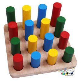 بازی استوانه اندازه گیری مونته سوری