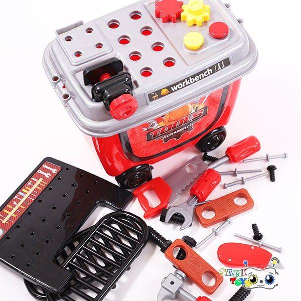 جعبه ابزار اسباب بازی کودک مدل Bowa