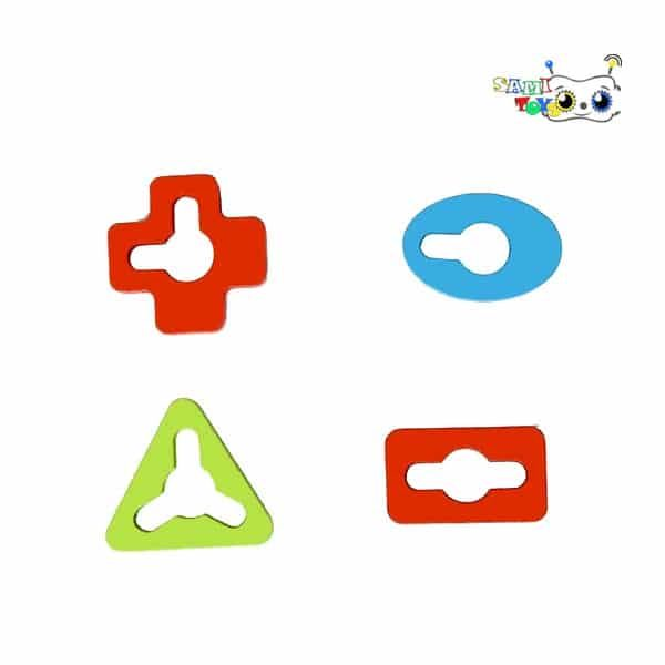 بازی مونته سوری ماج چهار ستونه