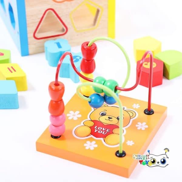 اسباب بازی ماز و مکعب هوش جایگذاری اشکال