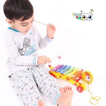 اسباب بازی آموزش بلز کودک مدل راهبر خمیده