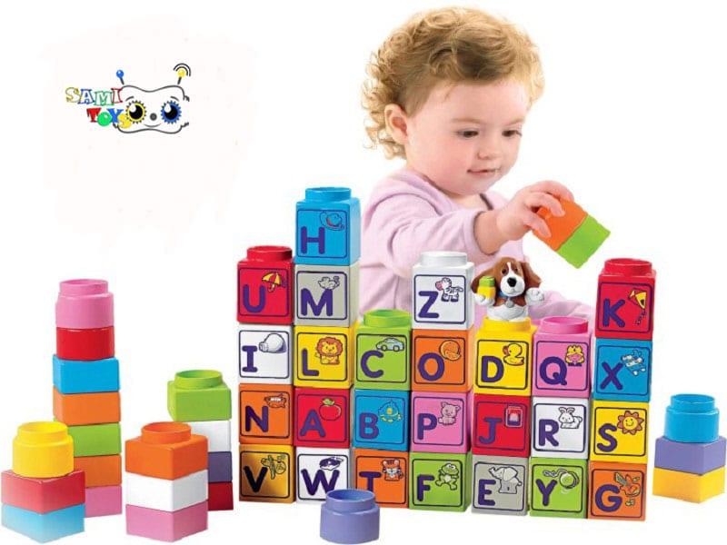 بازی ابتدایی با بلوک ها