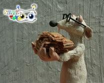اسباب بازی موش صحرایی پلاستیکی