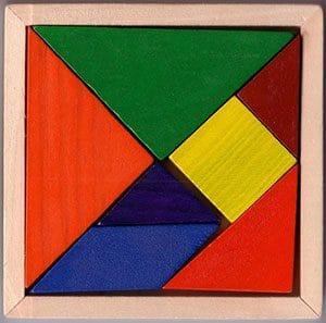 پازل معمای Tangram