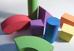 اسباب بازی بلوک های چوبی