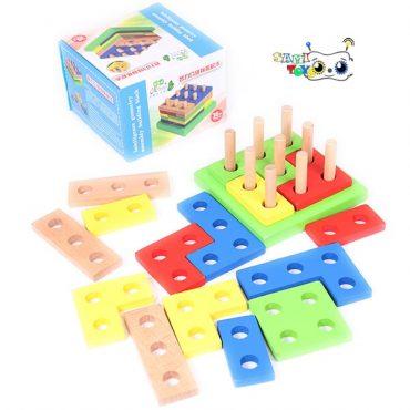 خرید بازی بلوک های هندسی مونته سوری