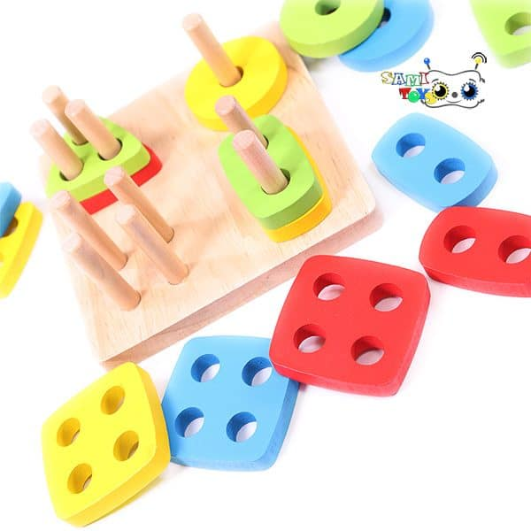 اسباب بازی آموزشی مونته سوری