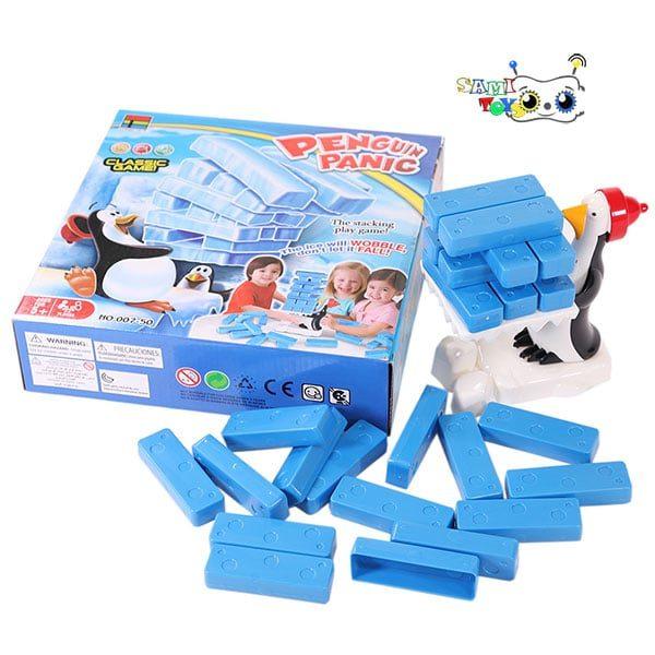 اسباب بازی برج جنگا پنگوئن تعادلی