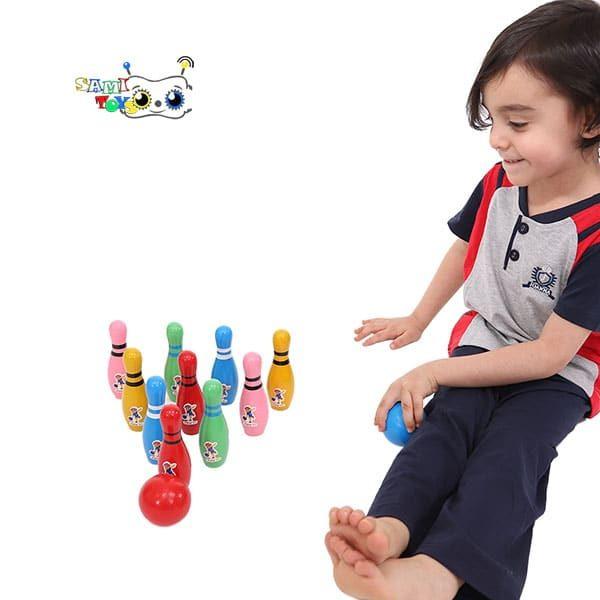 خرید بازی بولینگ چوبی مدل یویی