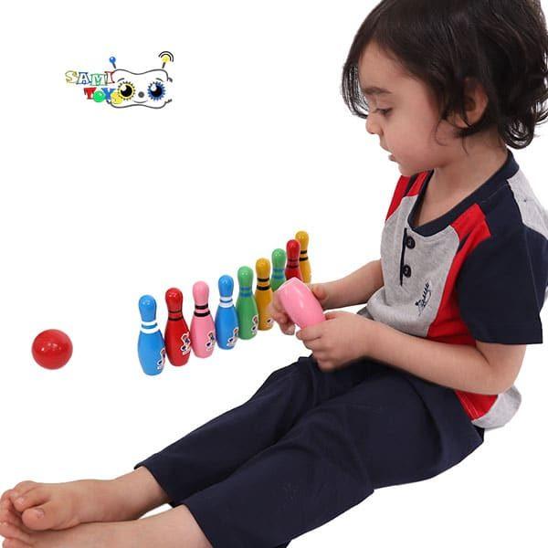 فروش اسباب بازی بولینگ چوبی یویی