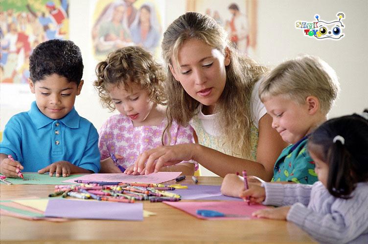 بازی کودکان زیر شش سال - انواع بازی کودکان - بازی کودک سه سال به بالا