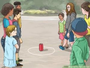 بازی قوطی را بگیر - بازی کودکان ده تا پانزده سال