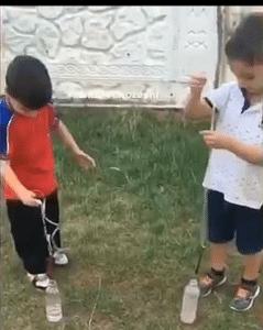 بازی میخ آبی - بازی کودکان ده تا پانزده سال