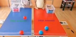 بازی توپ چسبی - بازی کودکان ده تا پانزده سال