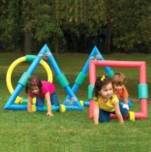 بازی مانور موانع - بازی کودکان زیر شش سال - انواع بازی کودکان