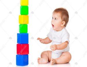 بازی با بلوک - بازی کودکان زیر شش سال - انواع بازی کودکان