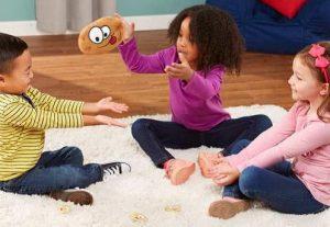 بازی سیب زمینی داغ - بازی کودکان زیر شش سال - انواع بازی کودکان