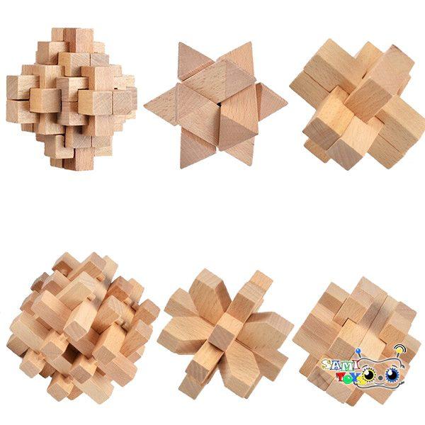 فروش پازل سه بعدی چوبی Kong MingSuo