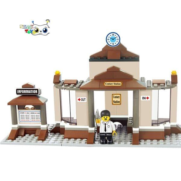 لگو ساختنی ایستگاه قطار برند اسلوبن کد B0230