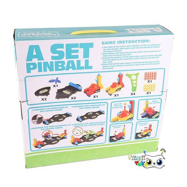 بازی هیجان انگیز پینبال Pinball