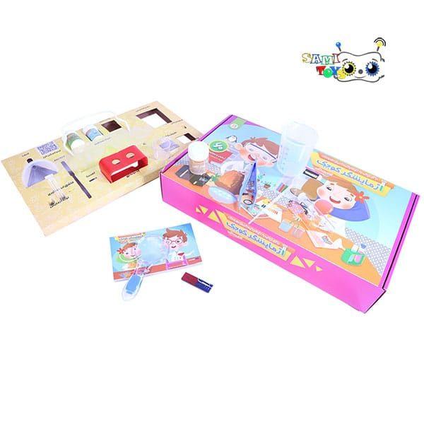 قیمت بازی آزمایش های علمی جذاب برای کودکان با آزمایشگر کوچک