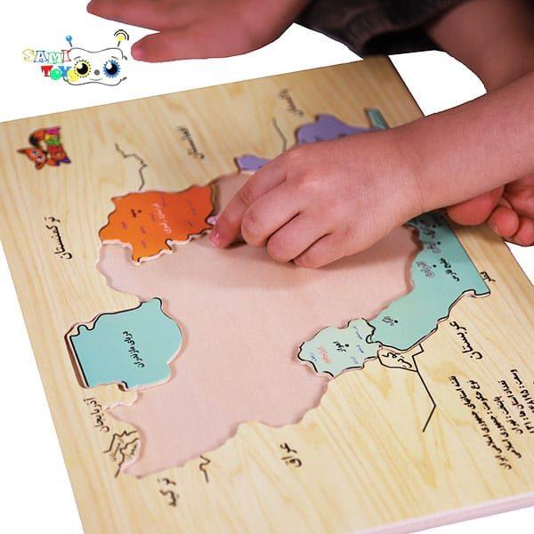 خرید پازل نقشه ایران