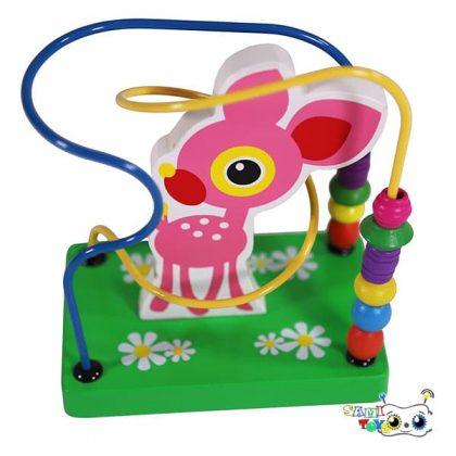 بازی میله و گوی چوبی مدل حیوانات - ماز و گوی حیوانات