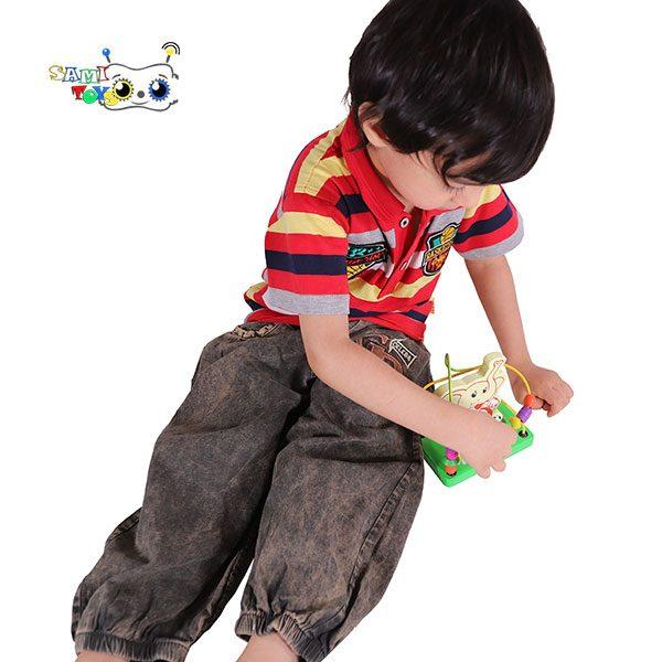 بازی مهره و میله کودک