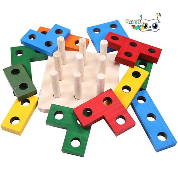 فروش بازی بلوک ساختنی مونته سوری